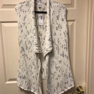 Chicos new with tags sweater vest chicos size 3